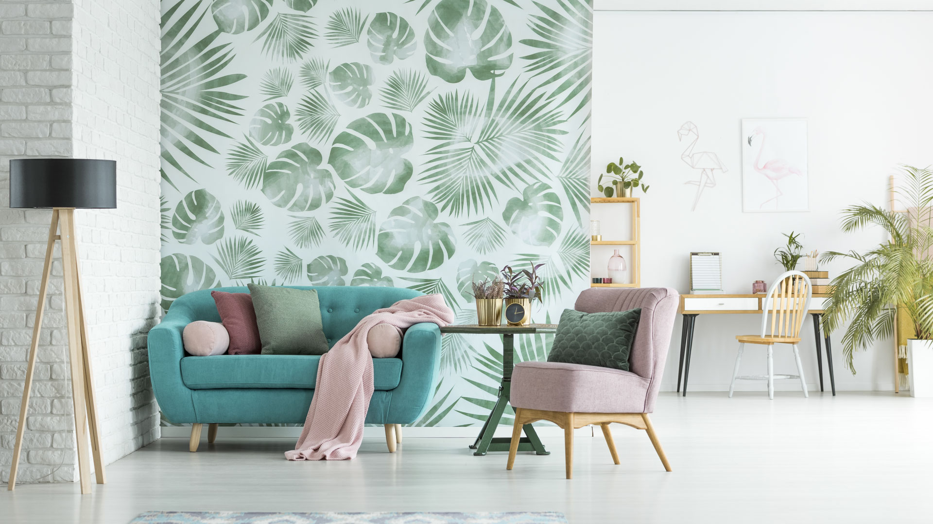 There Are Several Benefits To Using Wallpaper Over Simply Painting A Wall  In Your Home. Perhaps, The Most Obvious Benefit Of Using Wallpaper Is The  Huge ...